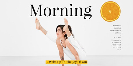 Morning Yoga Session 2020 Unlock Free Trial tickets