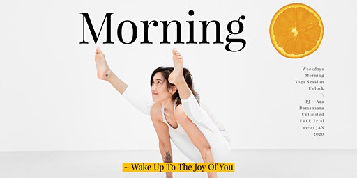 Morning Yoga Session 2020 Unlock Free Trial