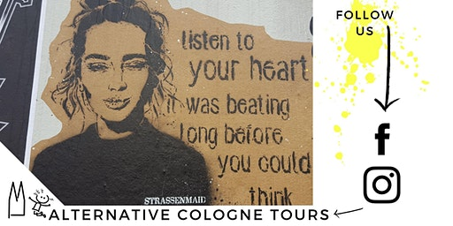 Street Art Tour meets Life Design: Belgisches Viertel von AlternativeCologneTours.com