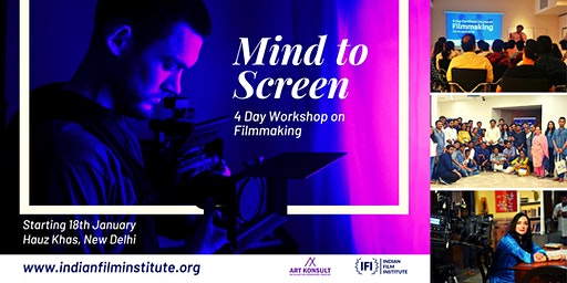 Mind to Screen: A Certificate Course in Filmmaking