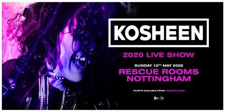 Kosheen Live Show (Rescue Rooms, Nottingham) tickets