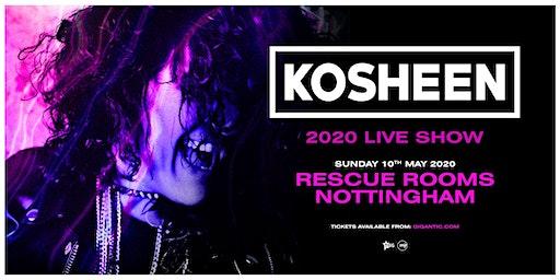 Kosheen Live Show (Rescue Rooms, Nottingham)