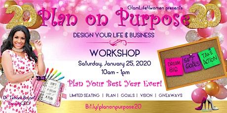 Plan on Purpose WORKSHOP tickets