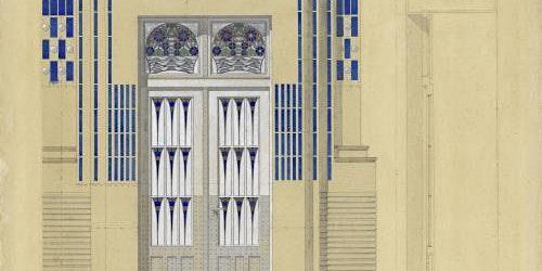 Cycle de conférences. L'Art nouveau en Europe. 2-L'Art nouveau en France.