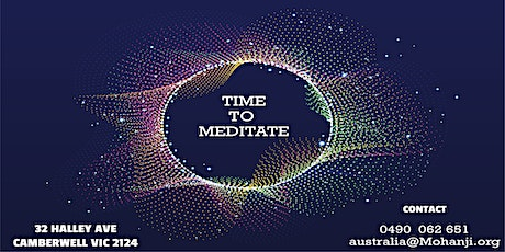 TIME TO MEDITATE tickets