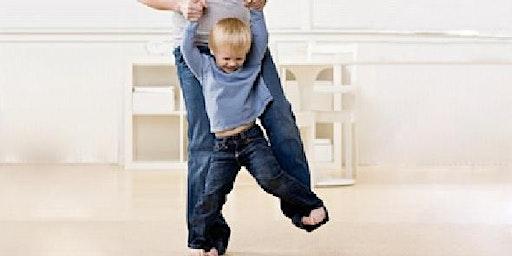 CURSUS - PEUTERDANS (met ouders) - 4 lessen - 1 tm 3 jaar
