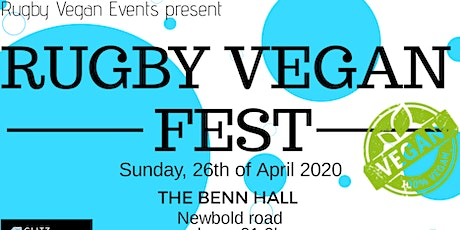 Rugby Vegan Fest 2020 tickets