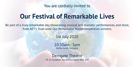 A Festival of Remarkable Lives 2020 tickets