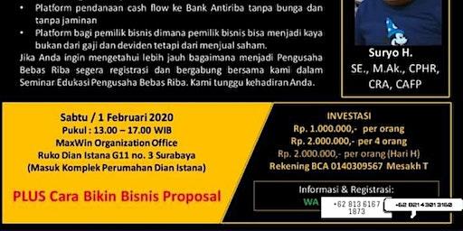 Workshop Proposal Bisnis Untuk Mendapatkan Pendanaan & Permodalan Investor