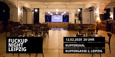 FuckUp Nights Leipzig Vol. 38 Tickets