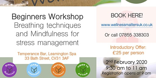 Stress Reduction & Mindfulness Workshop