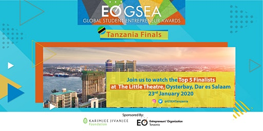 EO Tanzania Global Student Entrepreneur Awards (GSEA) Finals