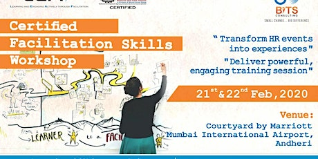 Upcoming Certified Facilitation Skills Workshop in Mumbai on 21st & 22nd Fe tickets