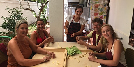 Cooking course Italian 4 course lunch biglietti