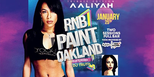 RNBPAINT : JANUARY ( AALIYAH  TRIBUTE EDITION)