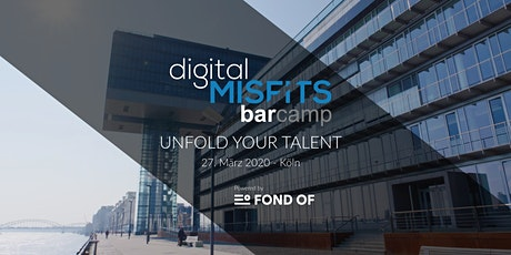Digital Misfits Barcamp - Köln - 27. März 2020 Tickets