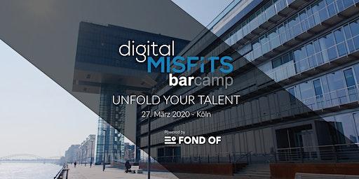 Digital Misfits Barcamp - Köln - 27. März 2020