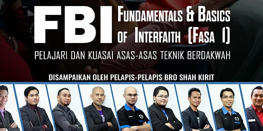 FUNDAMENTALS AND BASICS OF INTERFAITH (FBI) FASA 1 - BAHASA MALAYSIA