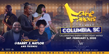 Fake Famous Comedy Tour (Columbia, SC) tickets