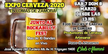 EXPO CERVEZA 2020  LOMAS DE ZAMORA - ROCKABILLY FEST entradas