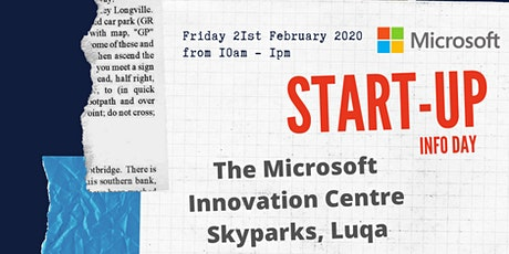 Microsoft for Start-ups Information Day tickets