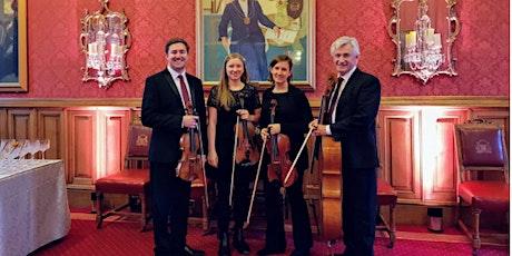 Aurora String Quartet with Gareth John tickets