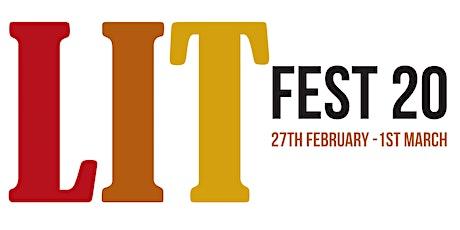 LitFest20 tickets