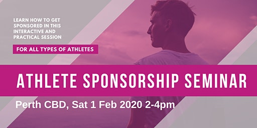 Athlete Sponsorship Seminar - How you can get sponsored in 2020
