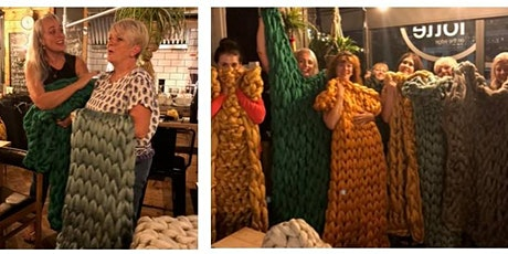 Arm Knit Blanket Workshop - East Grinstead tickets