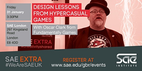 SAE London: Design lessons from Hypercasual Games with Oscar Clark tickets
