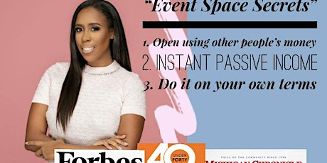 Secrets of Opening An Event Space tickets