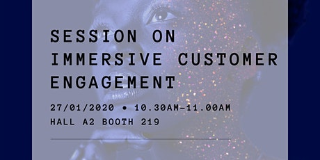 Immersive customer engagement tickets