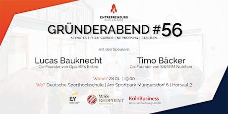 Gründerabend #56 Tickets