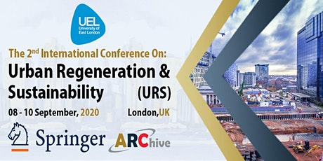 Urban Regeneration and Sustainability Conference tickets