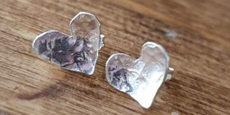 MAKE A PAIR OF HEART EARRINGS tickets