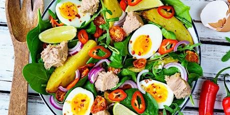 25/03 - SALADERIA – Saladas, molhos, proteínas e complementos 19h às 22h - R$ 195,00 ingressos