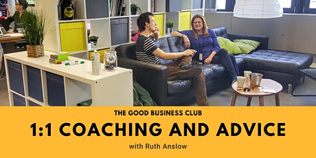 Good Business Coaching & Advice with Ruth Anslow tickets
