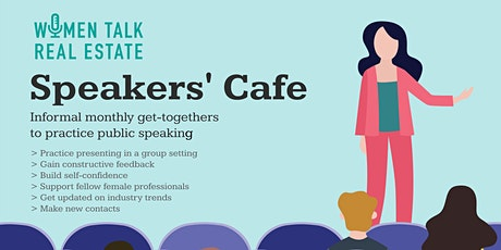 Speakers' Cafe, February 2020 tickets