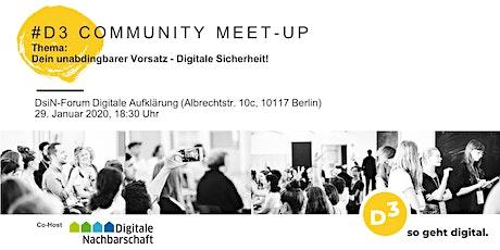 #4  D3 - Community Meet-Up Tickets