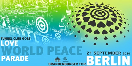 LOVE WORLD PEACE PARADE * * * * * 21.09.2020 Tickets