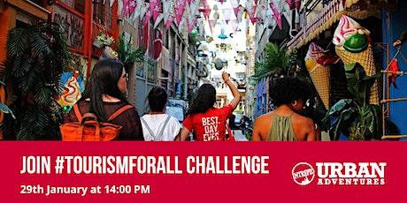 #TourismForAll Challenge tickets