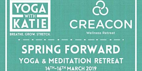 Spring Forward Yoga and Meditation Retreat tickets