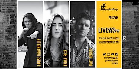 LIVEwire Leeds #3   Louise Fazackerley & Evrah Rose tickets