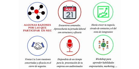 Networking Enccas Club entradas