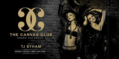 The Canvas Club: Every Saturday tickets