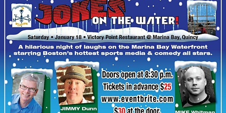 Jokes on the Water 2020: Boston's comedy all-stars debut new season Jan. 18 tickets