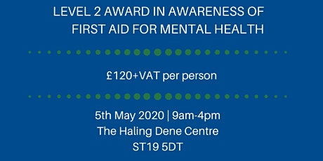FAA Level 2 Award in First Aid for Mental Health tickets