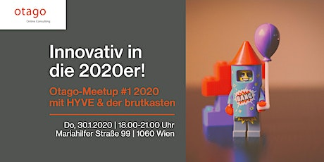 Innovativ in die 2020er! Otago-Meetup #1 2020 Tickets