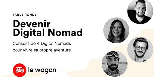 Table ronde : comment devenir digital nomad ?