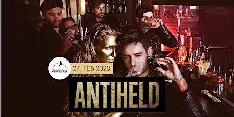Antiheld | Rock / Pop aus Stuttgard - Goldener Schuss Tour Tickets